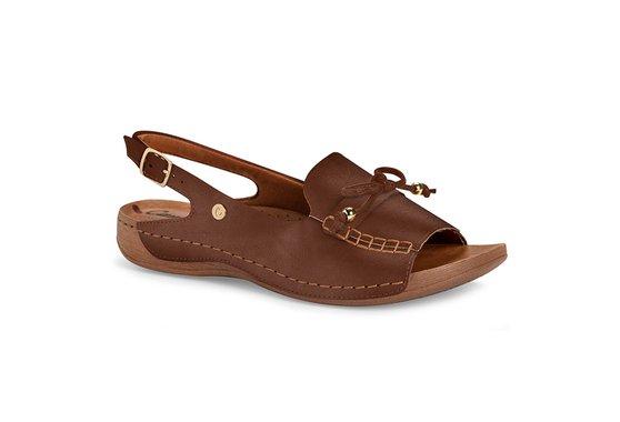 Sandália Especial Conforto - Marrom