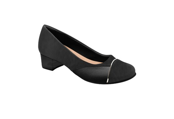 Sapato Social Feminino para Joanete - Preto
