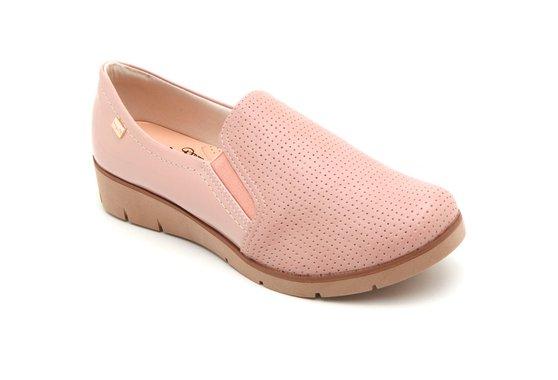 Sapato Casual Feminino - Rosado