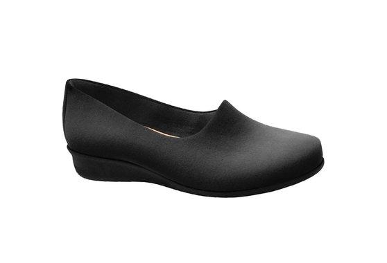 Sapato Ortopédico Feminino - Preto