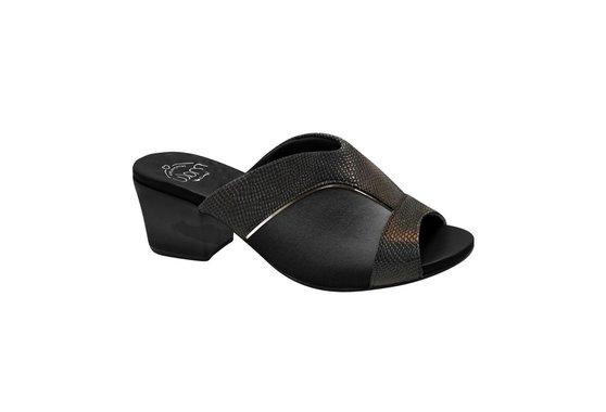 58814136c Tamanco Mule para Joanete - Preto | Pé Relax Sapatos Confortáveis