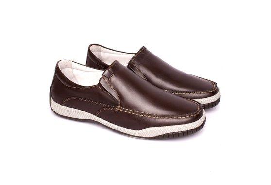 9f0bb0c16 Mocassim Masculino Confort - Marrom | Pé Relax Sapatos Confortáveis