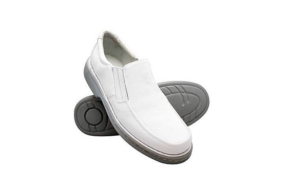 Sapato Confortável Masculino - Branco