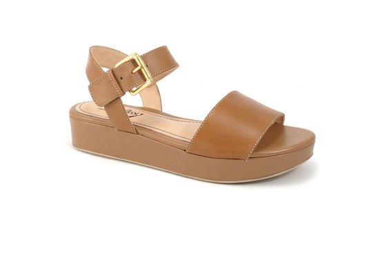 bc3e2d5d1 Sandália Anabela Confort - Marrom | Pé Relax Sapatos Confortáveis