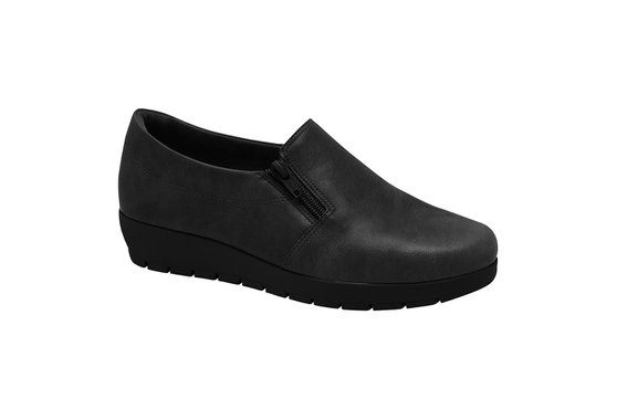 Sapato Feminino Ortopédico - Preto