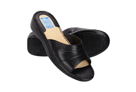 e936f0c1d Tamanco Feminino Confortável - Preto | Pé Relax Sapatos Confortáveis