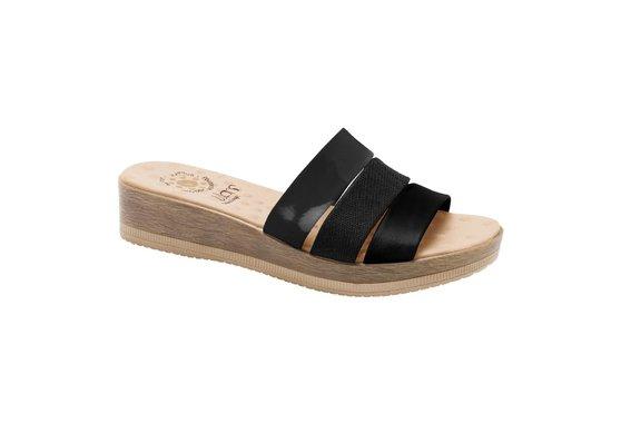0d1b086c5 Tamanco Ortopédico Feminino - Preto | Pé Relax Sapatos Confortáveis