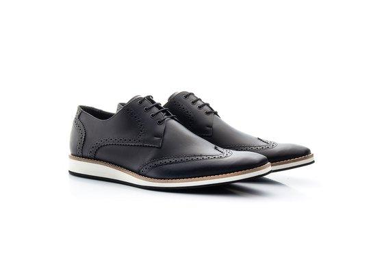 Sapato Brogue Masculino Preto