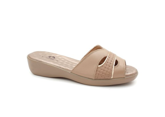 Tamanco Feminino Anatômico - Light Tan