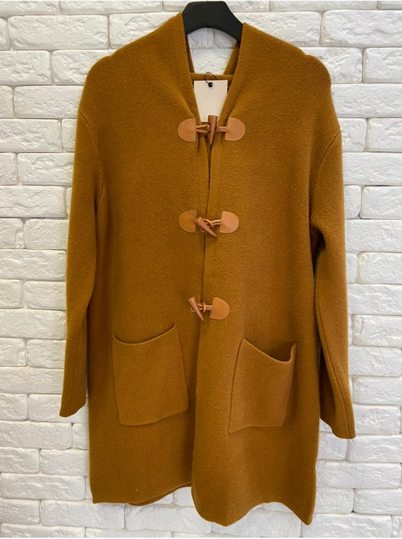 TRENCH COAT INSPIRED BURBERRY - CARAMELO