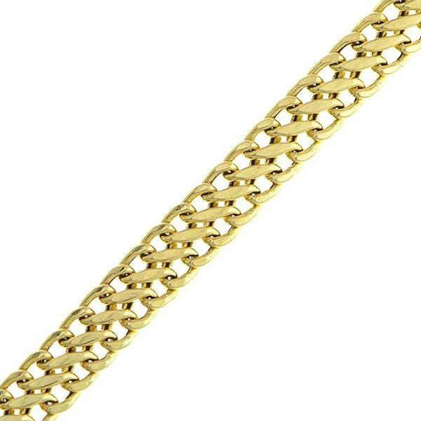 Pulseira em Ouro 18K Lacraia de 5,5mm com 18cm