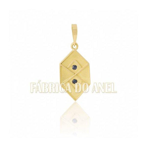 Pingente de Formatura de Adm em Ouro Amarelo 18k 0,750 P-14