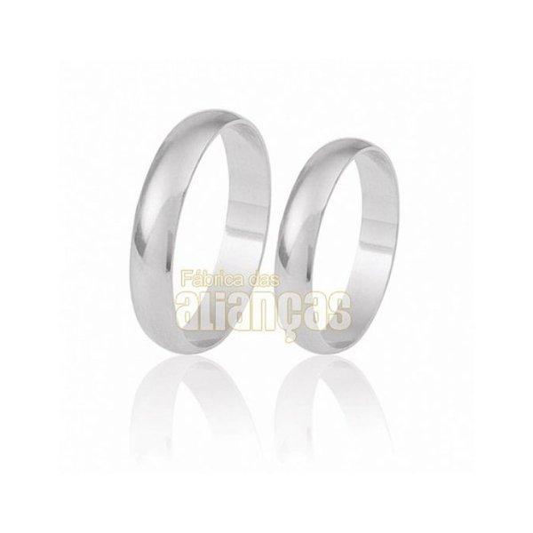 Alianças de Compromisso em Prata 0,950 k Fa-Ag-017