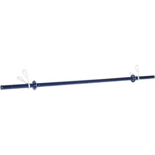 """Barra Pump 1"""" 1,20 m com presilhas - sem Anilhas"""