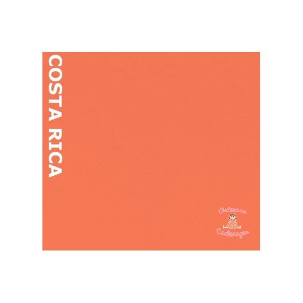 COLOR PLUS COSTA RICA ( CORAL) - 1 FOLHA A3