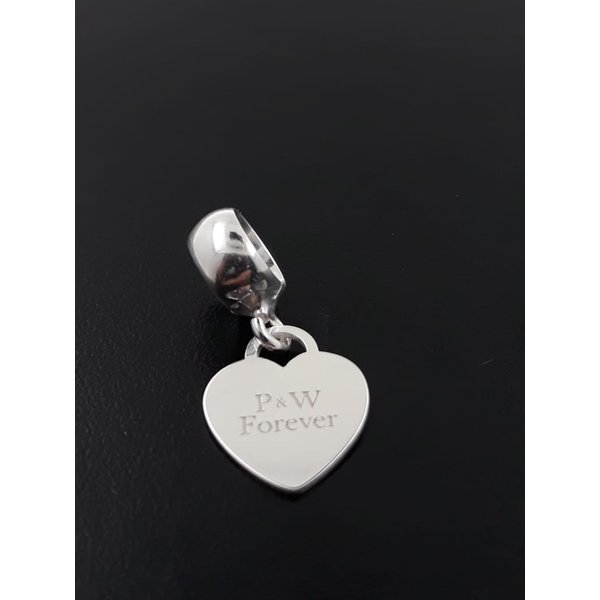 Pingente Berloque em Prata 925 Personalizado