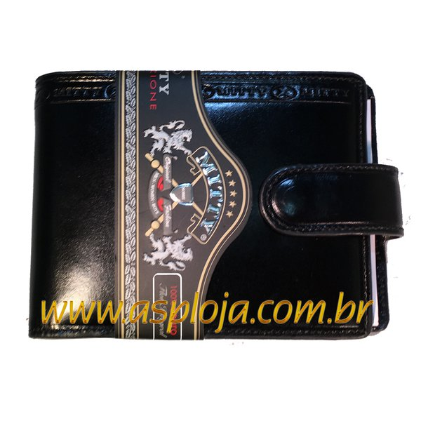 Carteira Masculina Mitty Preto - K1FR-LP/ASP-CA-780