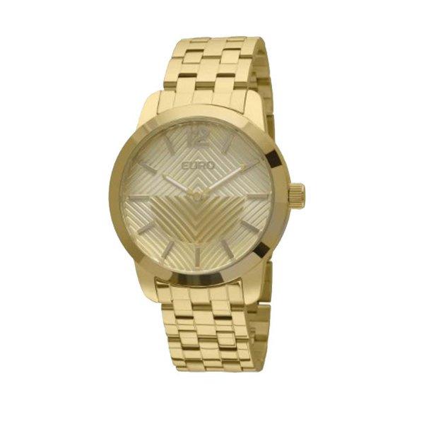 Relógio Euro Fan Dourado Feminino - EU2034AJ/4D - ASP-RLG-2787