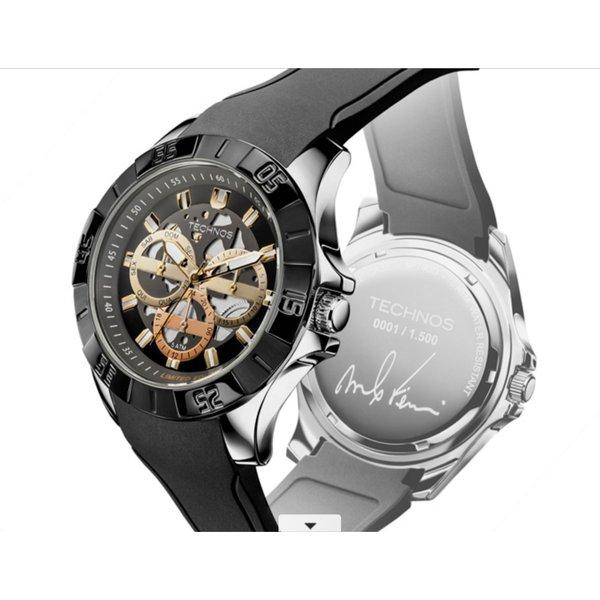 Relógio Technos Masculino Time de Heróis Marcelo Ferreira - Vela 6P79BD/8C