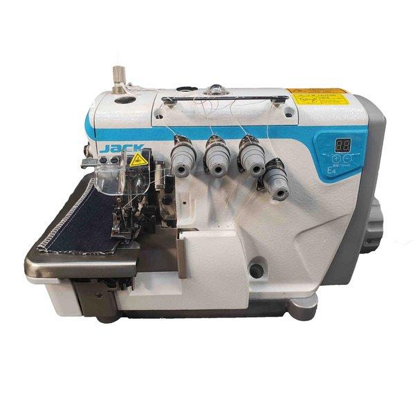 Máquina de Costura Interloque Direct Drive Jack Pesado E4