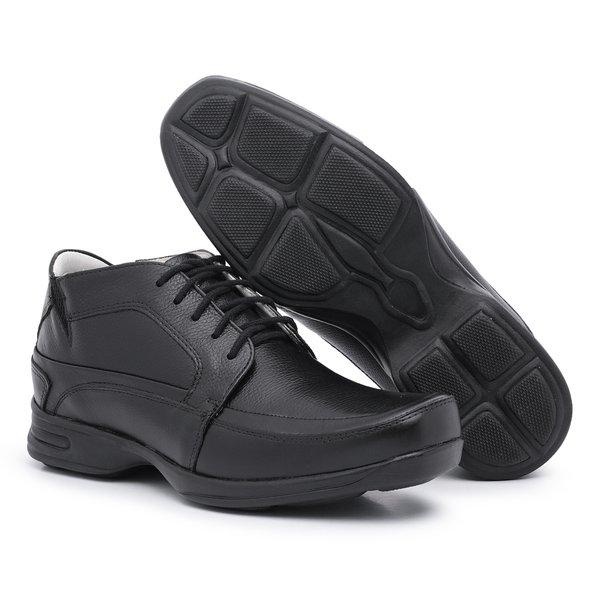 Sapato Social Masculino Anti-stress Preto