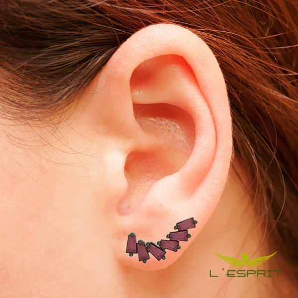 EAR CUFF DE ZIRCONIA RUBK
