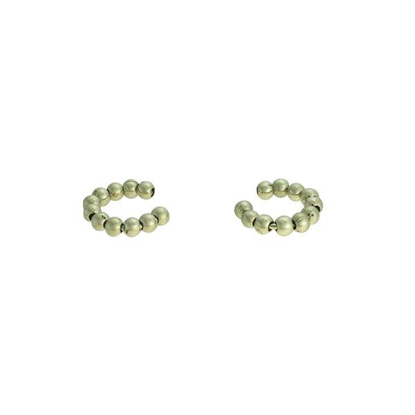 Brinco Piercing de Pressão Metal Lesprit 37511/p/03 Ródio