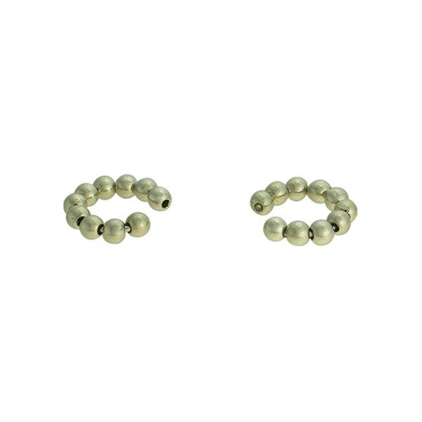 Brinco Piercing de Pressão Metal Lesprit 37511m/03 Ródio