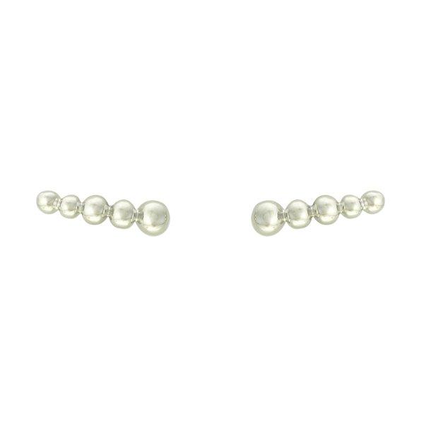 Brinco Ear Cuff Metal Lesprit 37605/3 Ródio