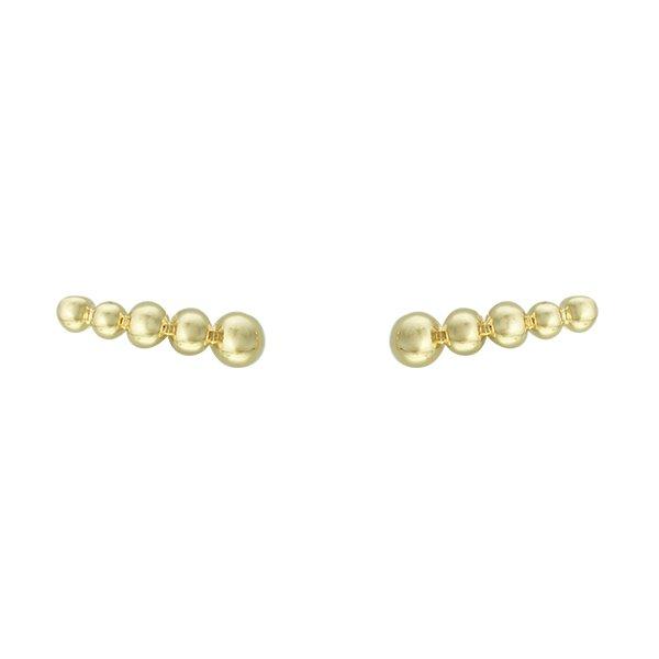 Brinco Ear Cuff Metal Lesprit 37605/3 Dourado
