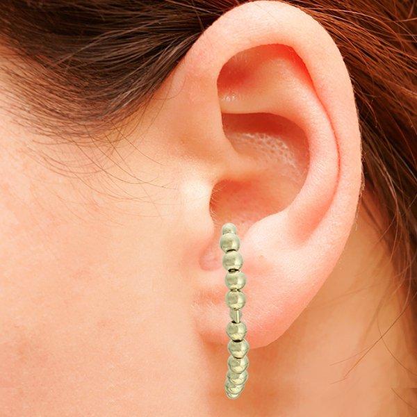 Brinco Ear Hook Metal Lesprit 37603/03 Dourado