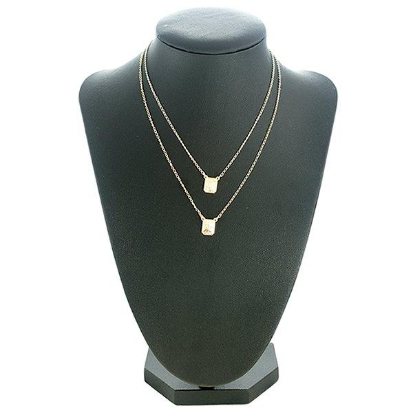 Colar Metal Lesprit ESLS00151 Dourado