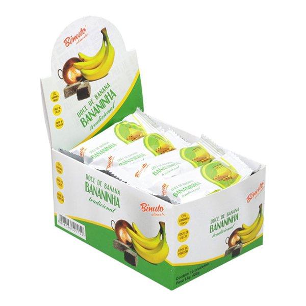 Doce de Banana Bananinha Caixa com 16 unidades
