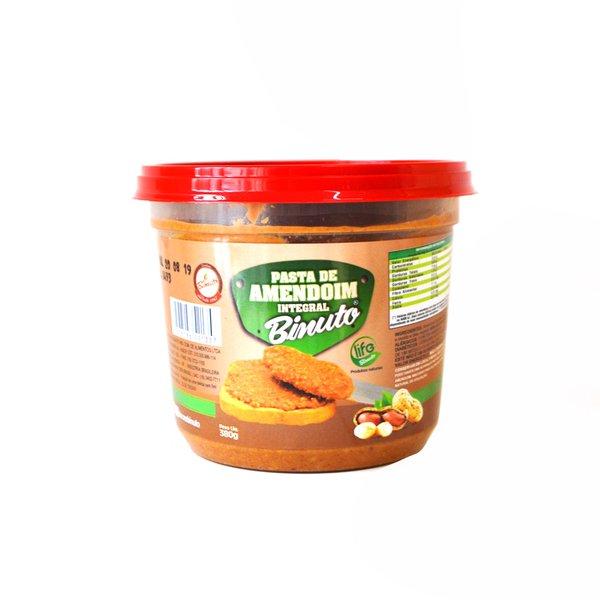 Pasta de Amendoim Integral sem açúcar Binuto 380g