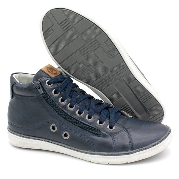 Bota Casual Bmbrasil 901/28 Azul