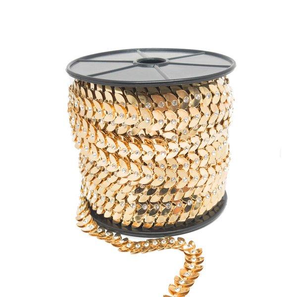 Corrente de Metal Versalles - Ouro.