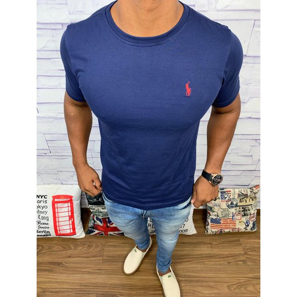 Camiseta Ralph Lauren - azul marinho