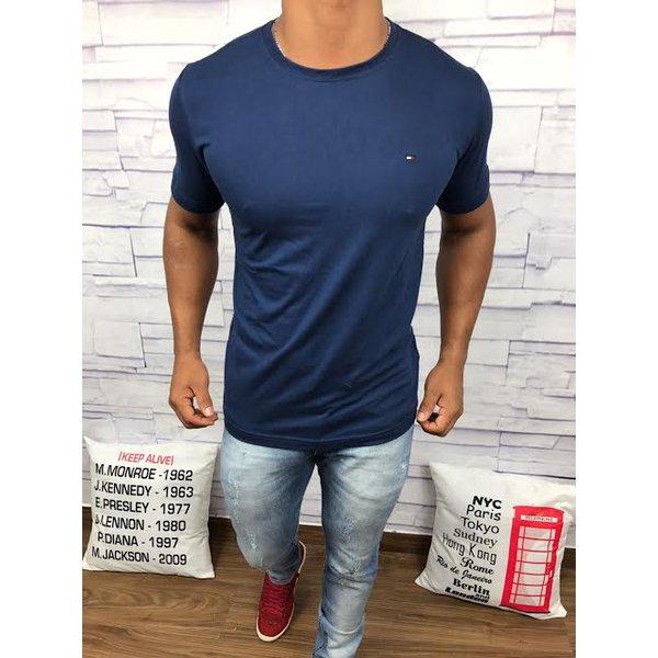Camiseta Tommy Hilfiger - Azul Marinho