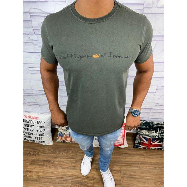 Camiseta OSK - Marrom