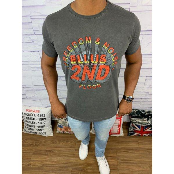 Camiseta Ellus - Chumbo