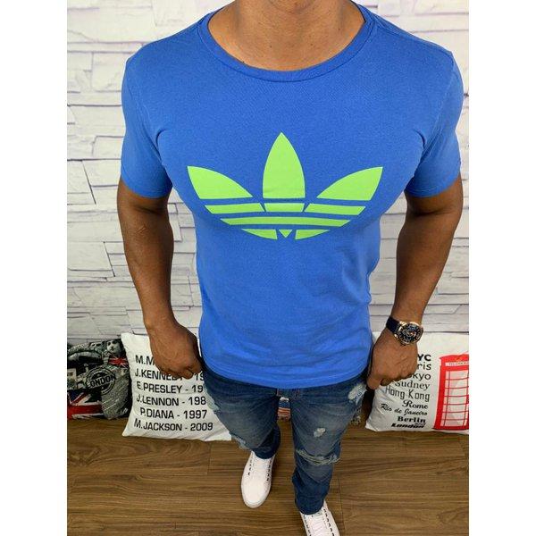 Camiseta Adidas - Azul Bic