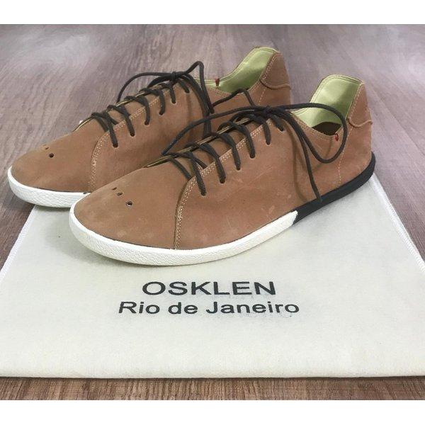 Sapatenis Osk - Handmade Cadarço Marrom