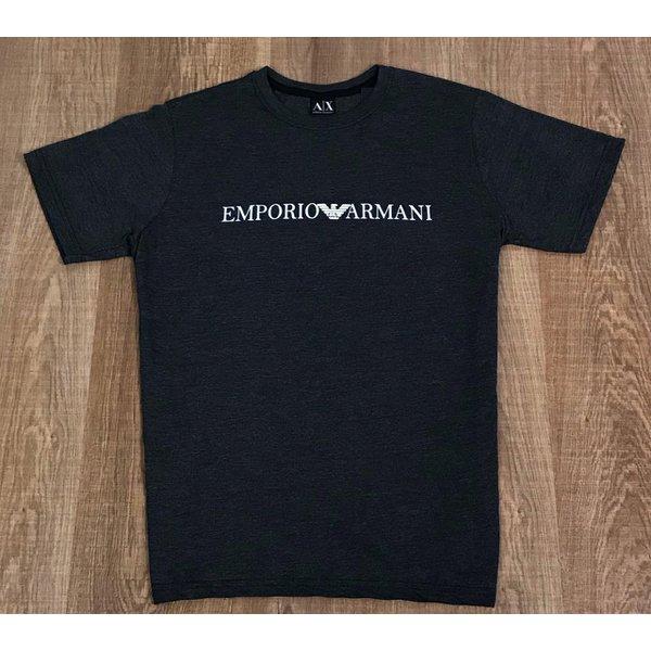 Camiseta Armani - Chumbo