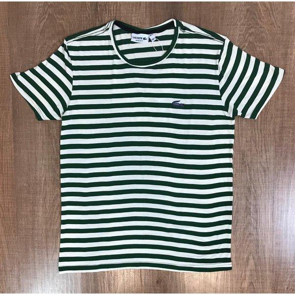 Camiseta Lacoste - Listra Verde