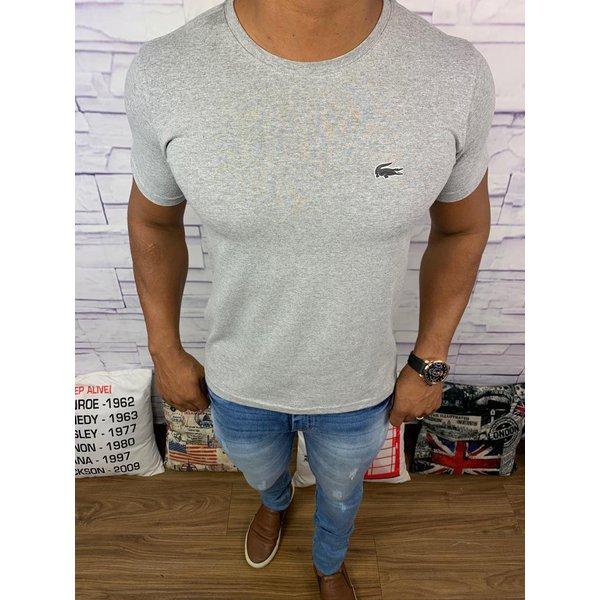 Camiseta Lacoste Lisa - Cinza