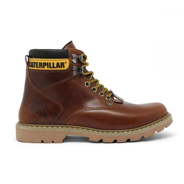 Bota Caterpillar Second Shift Boot - Pull Up Havana