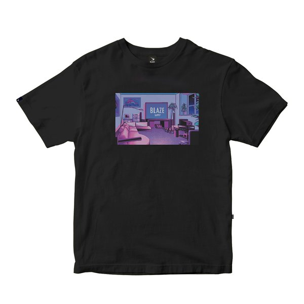 Camiseta Blaze Supply Tee Safely Blazin Black