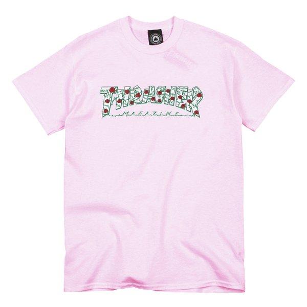 Camiseta Thrasher Roses Pink