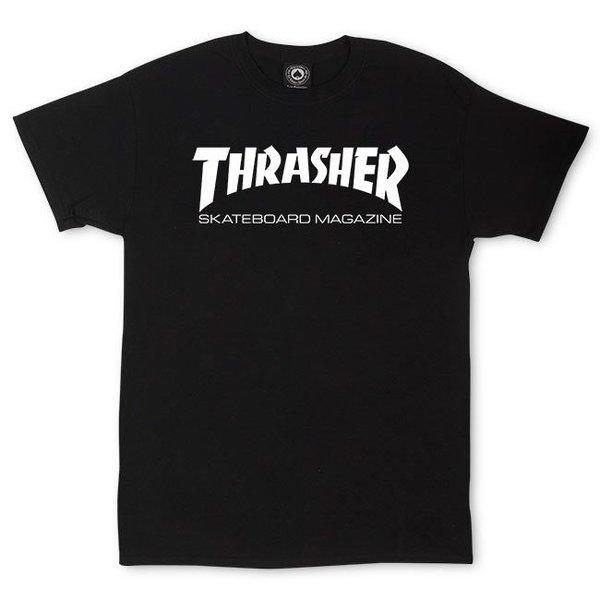 CAMISETA THRASHER SKATE MAG BLACK