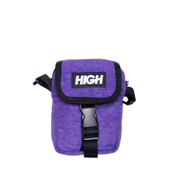 Shoulder Bag High Logo Purple